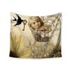 "KESS InHouse ""Key"" by Suzanne Carter Wall Tapestry"