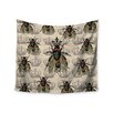 """KESS InHouse """"Queen Bee"""" by Suzanne Carter Wall Tapestry"""