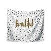 """KESS InHouse """"Beautiful"""" by Suzanne Carter Wall Tapestry"""