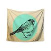 "KESS InHouse ""Old Paper Bird"" by Sreetama Ray Wall Tapestry"
