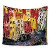 KESS InHouse Cinque Terre by Josh Serafin Wall Tapestry