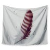 KESS InHouse The Feather by Lydia Martin Wall Tapestry