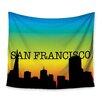 KESS InHouse San Francisco Wall Tapestry