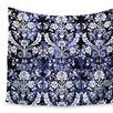 KESS InHouse Baroque Velvet Wall Tapestry