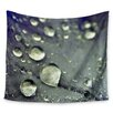 KESS InHouse Water Droplets by Iris Lehnhardt Wall Tapestry
