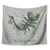 KESS InHouse Scorpio by Belinda Gillies Wall Tapestry