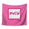 KESS InHouse Women Crush Wednesday Wall Tapestry