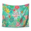 KESS InHouse Aztec Boho Emerald by Anneline Sophia Wall Tapestry