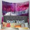 KESS InHouse Purple by Li Zamperini Wall Tapestry
