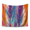KESS InHouse Colorful Fire by Danny Ivan Wall Tapestry