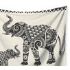 KESS InHouse Ornate Indian Elephant-Boho by Famenxt Wall Tapestry