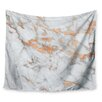 KESS InHouse Rose Gold Flake Wall Tapestry