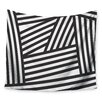 KESS InHouse Black Stripes by Louise Machado Wall Tapestry