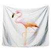 KESS InHouse My Flamingo by Geordanna Cordero-Fields Wall Tapestry