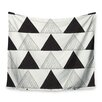 KESS InHouse Textured Triangles by Laurie Baars Wall Tapestry