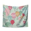 KESS InHouse Hot Air Balloons by Heidi Jennings Wall Tapestry