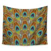 KESS InHouse Peacock by Art Love Passion Wall Tapestry