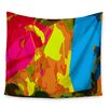 KESS InHouse Colored Plastic by Matthias Hennig Wall Tapestry