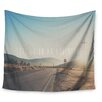KESS InHouse Let's Go On An Adventure by Laura Evans Wall Tapestry