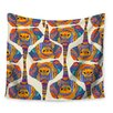 KESS InHouse Elephant Play by Pom Graphic Design Wall Tapestry