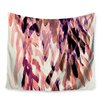 KESS InHouse Abstract Leaves by Iris Lehnhardt Wall Tapestry