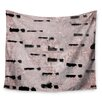 KESS InHouse Texture & Pattern 1 by Iris Lehnhardt Wall Tapestry