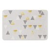 KESS InHouse Triangle Love by Nick Atkinson Memory Foam Bath Mat
