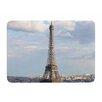 KESS InHouse Eiffel Tower by Philip Brown Memory Foam Bath Mat