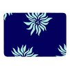 KESS InHouse Snow Flowers by NL Designs Memory Foam Bath Mat