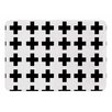 KESS InHouse Swedish Cross by Suzanne Carter Memory Foam Bath Mat
