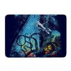 KESS InHouse Danger from the Deep by Frederic Levy-Hadida Memory Foam Bath Mat