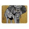 KESS InHouse Elephant by Pom Graphic Design Memory Foam Bath Mat