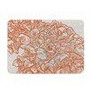 KESS InHouse Lettuce Coral by Sam Po snick Memory Foam Bath Mat