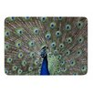 KESS InHouse Peacock of Stunning Features by Sing Jo Memory Foam Bath Mat