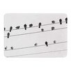 KESS InHouse Birds on Wire by Sing Jo Memory Foam Bath Mat