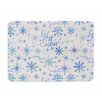 KESS InHouse Let It Snow Winter Pattern by Noonday Design Memory Foam Bath Mat