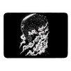 KESS InHouse Alien Light by Banjarmasin Memory Foam Bath Mat