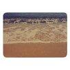 KESS InHouse Ombre Beach by Violet Hudson Memory Foam Bath Mat