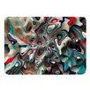 KESS InHouse Weird Surface by Danny Ivan Memory Foam Bath Mat