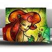 KESS InHouse Poison Ivy by Mandie Manzano Fleece Throw Blanket