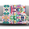 KESS InHouse Geometry 2B by Mareike Boehmer Fleece Throw Blanket