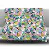 KESS InHouse Abstraction by Project M Fleece Throw Blanket