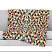 KESS InHouse Retro Grade Throw Blanket