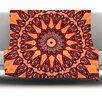 KESS InHouse Colors of Africa Fleece Throw Blanket
