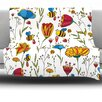 KESS InHouse Bees by Alisa Drukman Fleece Throw Blanket