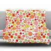 KESS InHouse Bubbles by Louise Machado Fleece Throw Blanket