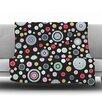 KESS InHouse Circle Circle II by Suzanne Carter Fleece Throw Blanket