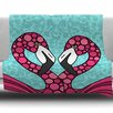 KESS InHouse Flamingos by Art Love Passion Fleece Throw Blanket