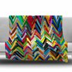KESS InHouse Chevrons by Frederic Levy-Hadida Fleece Blanket
