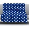 KESS InHouse Star by Bruce Stanfield Fleece Throw Blanket